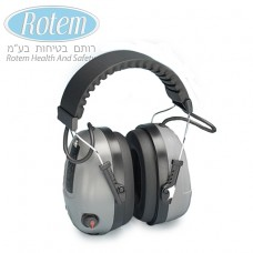 COM 655 אוזניות - הגנת נשימה - אלקטרוניות אקטיביות עם כניסת אודיו