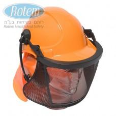 KF010 מסגרת לכובע מגן